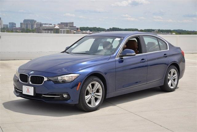 used 2017 BMW 330 car, priced at $29,395