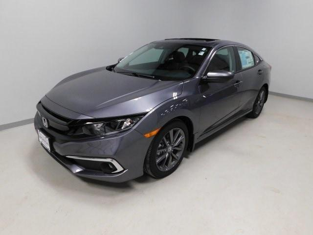 new 2021 Honda Civic car, priced at $25,155