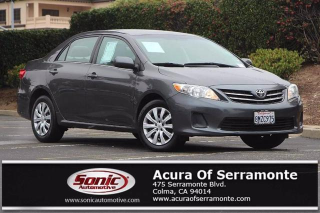 used 2013 Toyota Corolla car, priced at $9,397