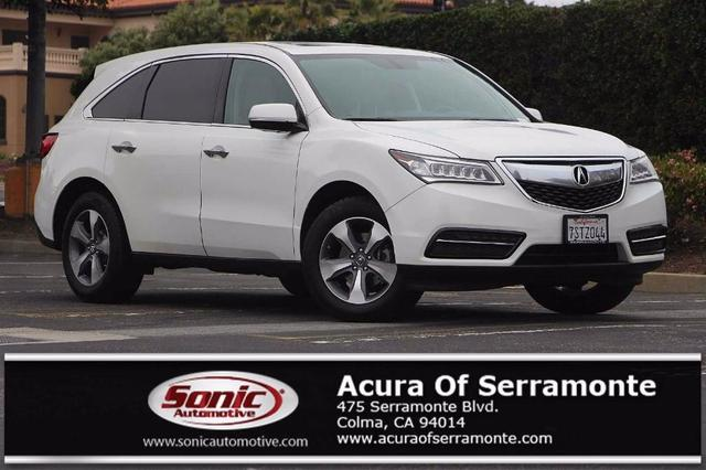 used 2016 Acura MDX car, priced at $24,896