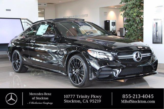 new 2021 Mercedes-Benz AMG C 43 car, priced at $70,515