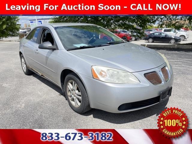 used 2006 Pontiac G6 car, priced at $4,000