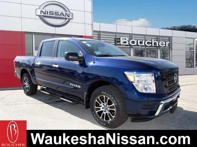 new 2021 Nissan Titan car, priced at $48,773