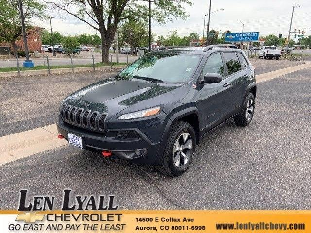 used 2018 Jeep Cherokee car, priced at $33,580