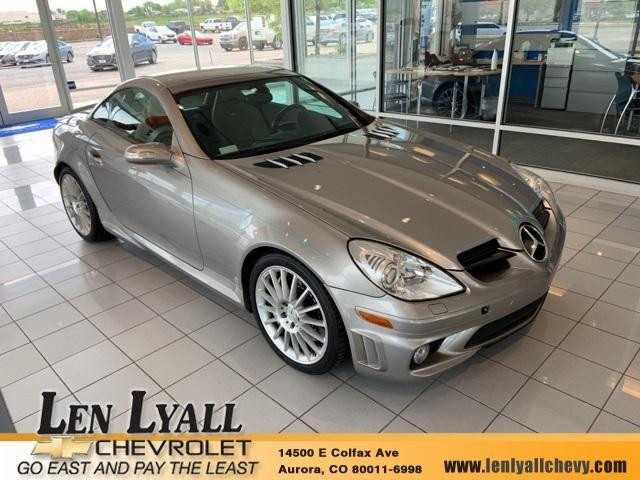 used 2006 Mercedes-Benz SLK-Class car, priced at $22,580