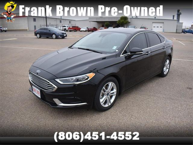used 2018 Ford Fusion car, priced at $20,405