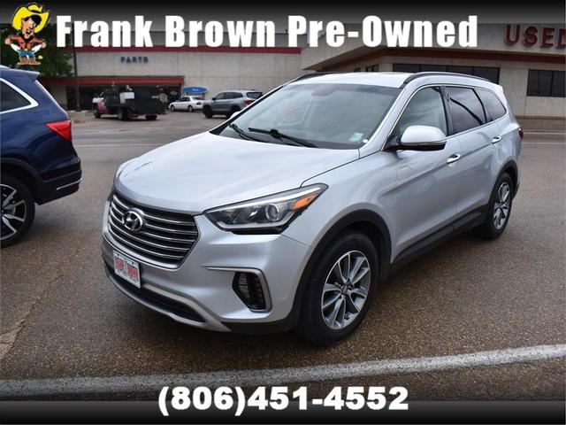 used 2018 Hyundai Santa Fe car, priced at $25,975