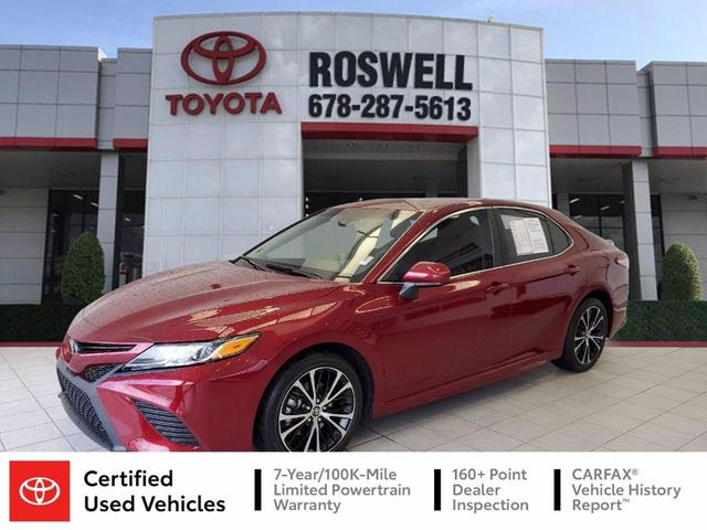 used 2018 Toyota Camry car, priced at $22,841