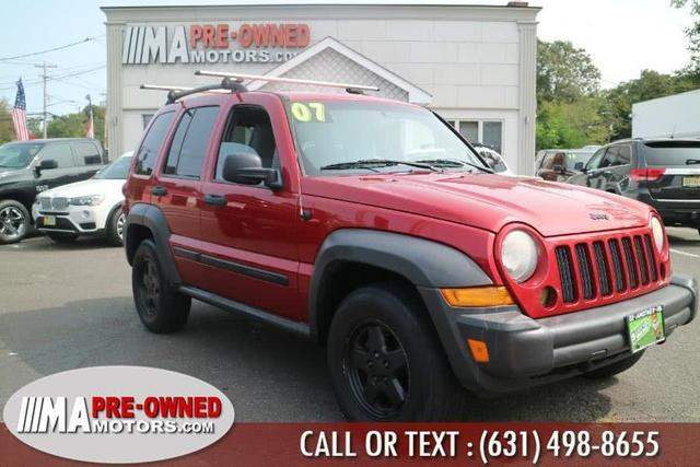 used 2007 Jeep Liberty car, priced at $5,495