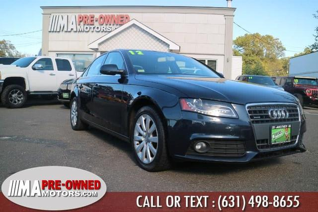 used 2012 Audi A4 car, priced at $9,995