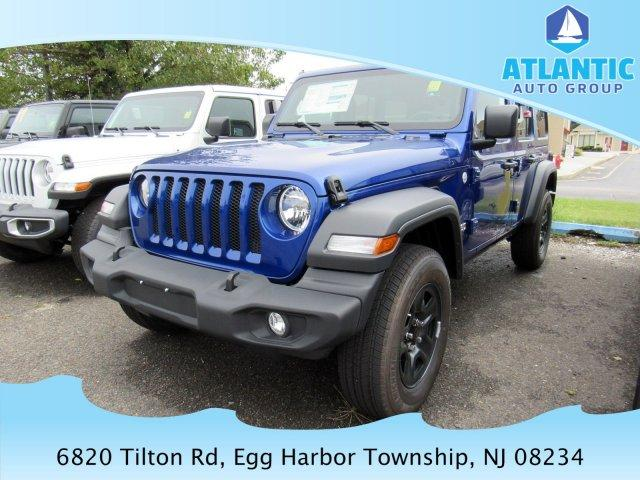 new 2018 Jeep Wrangler Unlimited car, priced at $37,530