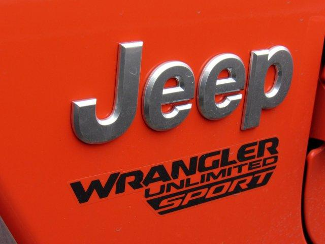 new 2018 Jeep Wrangler Unlimited car, priced at $36,730