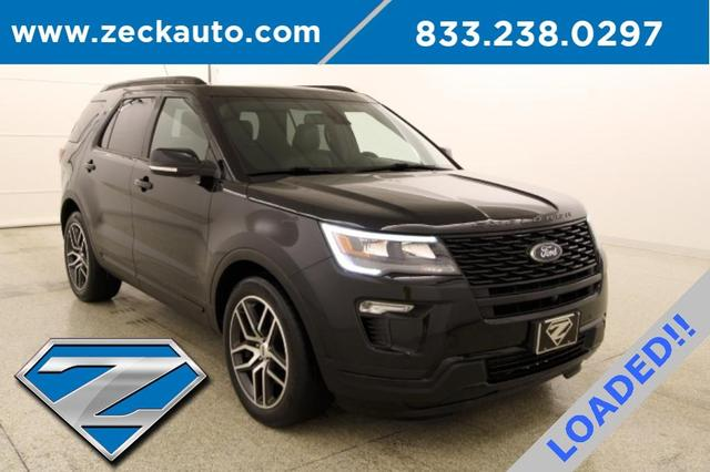 used 2018 Ford Explorer car, priced at $36,500