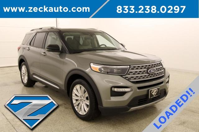 used 2020 Ford Explorer car, priced at $38,000