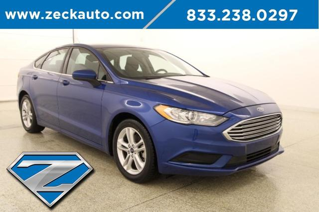 used 2018 Ford Fusion car, priced at $16,500