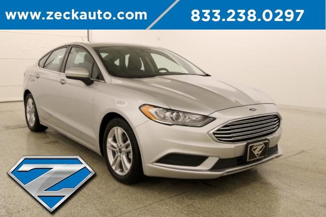 used 2018 Ford Fusion car, priced at $17,000
