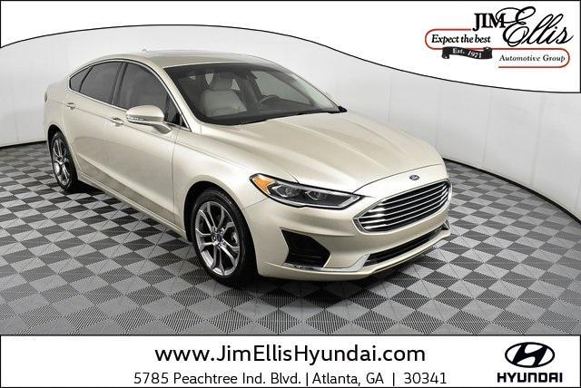 used 2019 Ford Fusion car, priced at $18,980