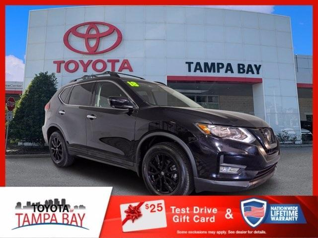 used 2018 Nissan Rogue car, priced at $19,384