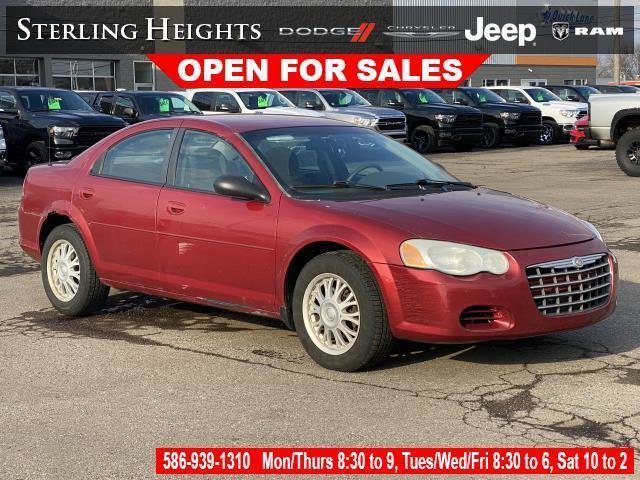 used 2004 Chrysler Sebring car, priced at $2,995