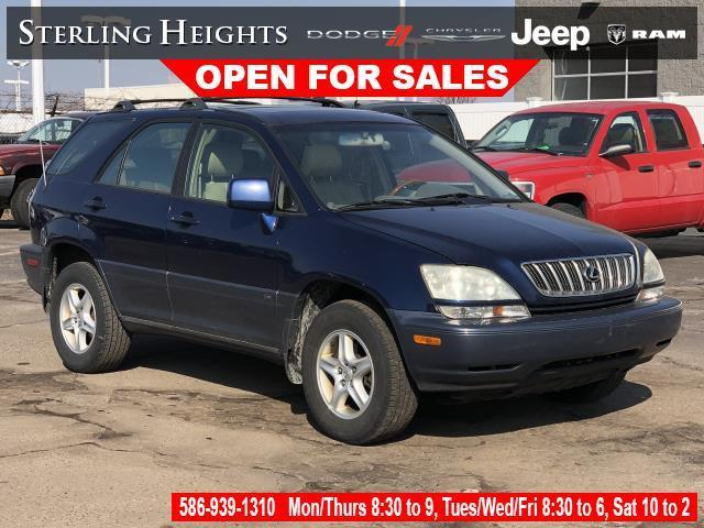 used 2002 Lexus RX 300 car, priced at $3,995