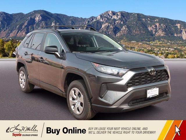 new 2021 Toyota RAV4 car, priced at $29,032