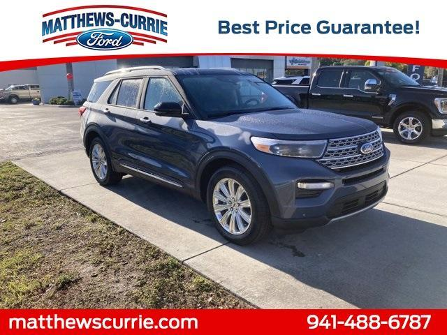 new 2021 Ford Explorer car, priced at $53,935