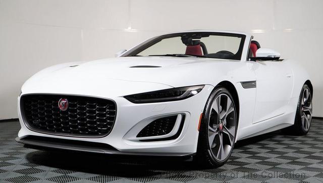 new 2021 Jaguar F-TYPE car, priced at $81,105