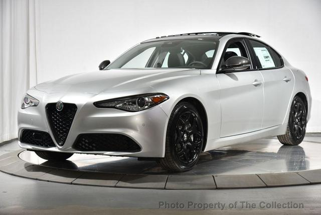 new 2021 Alfa Romeo Giulia car, priced at $45,235