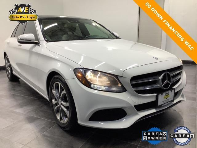 used 2017 Mercedes-Benz C-Class car, priced at $23,771