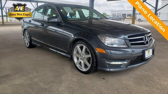 used 2014 Mercedes-Benz C-Class car, priced at $16,568