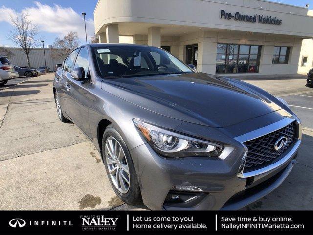 new 2021 INFINITI Q50 car, priced at $36,436