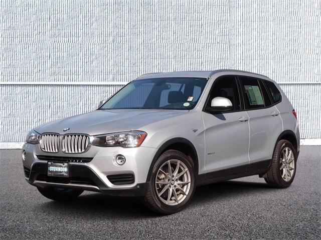 used 2017 BMW X3 car, priced at $26,280