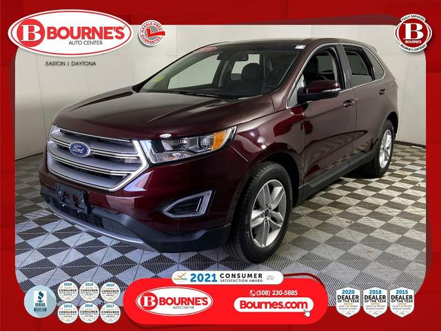 used 2018 Ford Edge car, priced at $27,490