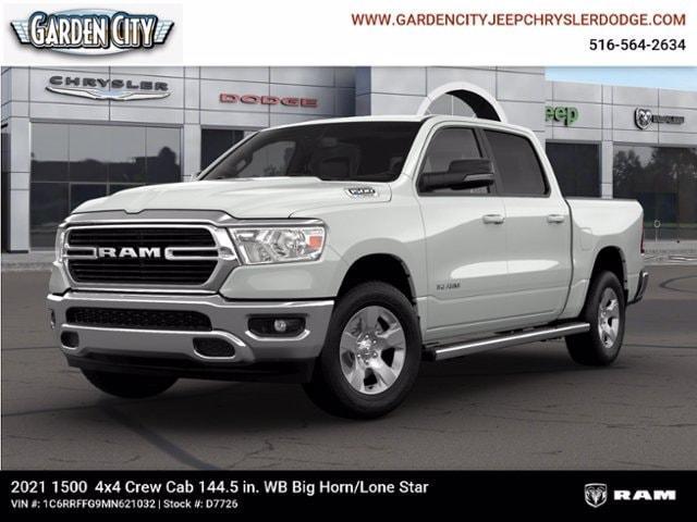 new 2021 Ram 1500 car, priced at $47,705