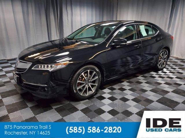 used 2016 Acura TLX car, priced at $19,990