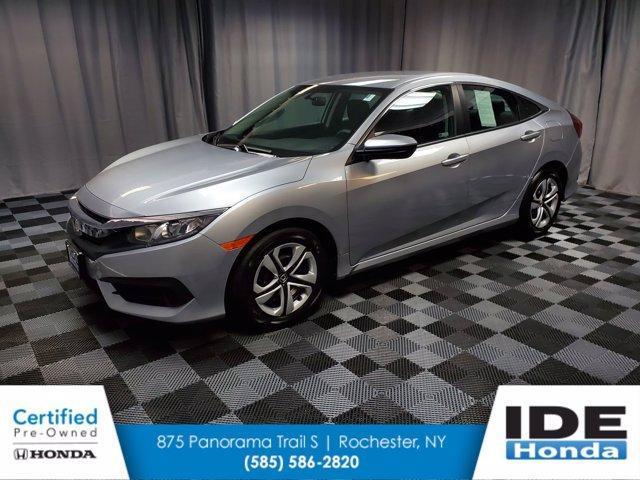 used 2018 Honda Civic car, priced at $18,290