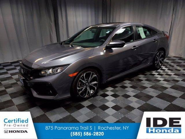 used 2018 Honda Civic car, priced at $27,990