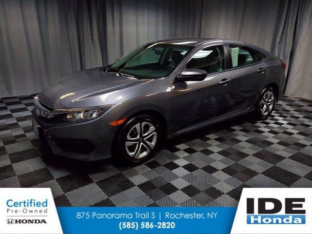 used 2018 Honda Civic car, priced at $20,990
