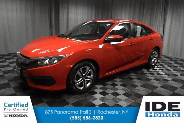 used 2018 Honda Civic car, priced at $18,990