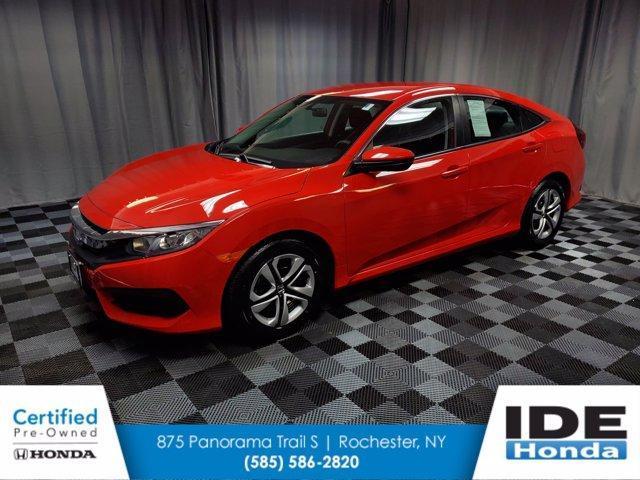 used 2018 Honda Civic car, priced at $17,990