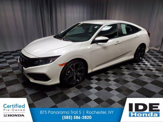used 2019 Honda Civic car, priced at $21,990