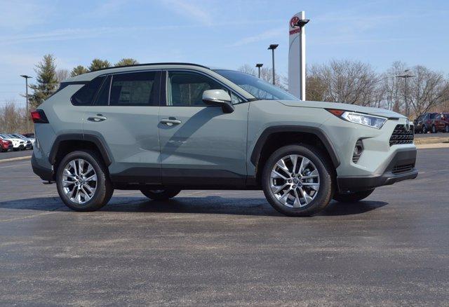 new 2021 Toyota RAV4 car, priced at $34,389