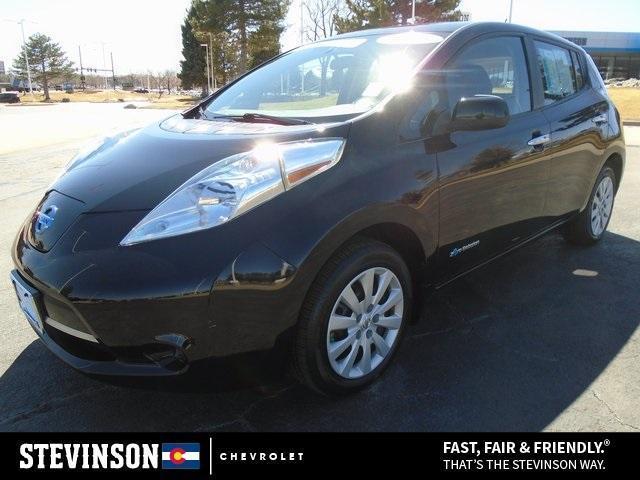 used 2016 Nissan Leaf car, priced at $11,248