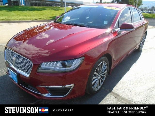 used 2018 Lincoln MKZ car, priced at $28,087