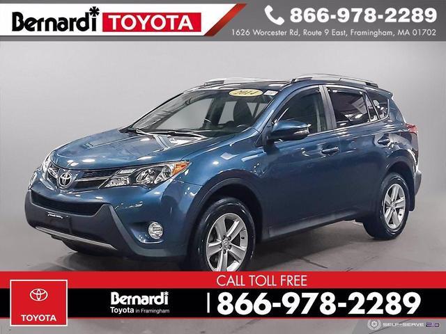 used 2014 Toyota RAV4 car, priced at $16,993