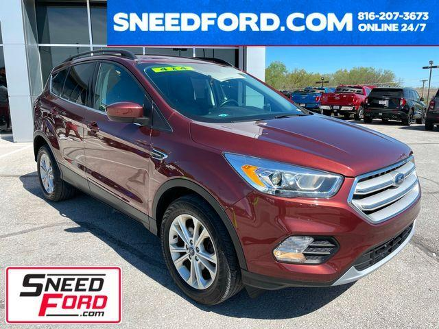 used 2018 Ford Escape car, priced at $24,999