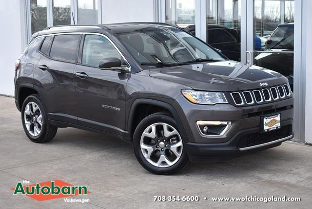 used 2018 Jeep Compass car, priced at $25,762