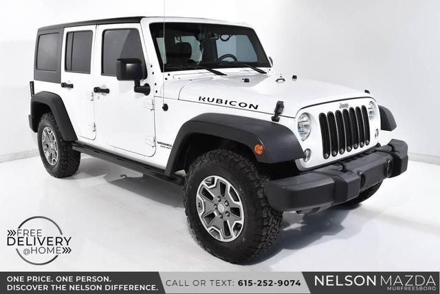 used 2016 Jeep Wrangler Unlimited car, priced at $35,990