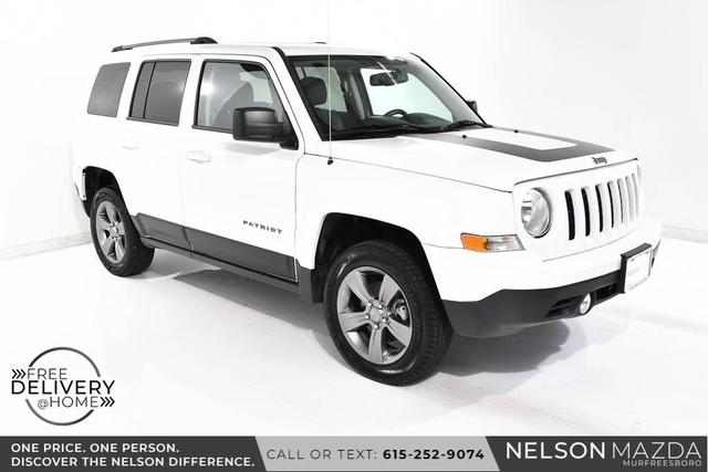 used 2016 Jeep Patriot car, priced at $13,990