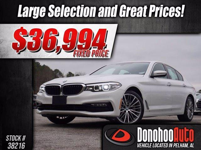 used 2018 BMW 530 car, priced at $36,994